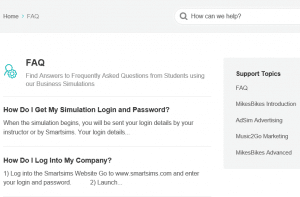 simulation questions page