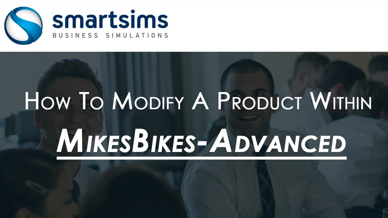 MikesBikes Advanced Product Modification Video