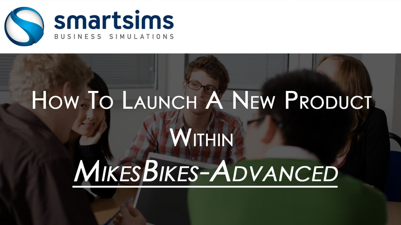 Introduction text for MikesBikes-Advanced New Product Launch Modification Video