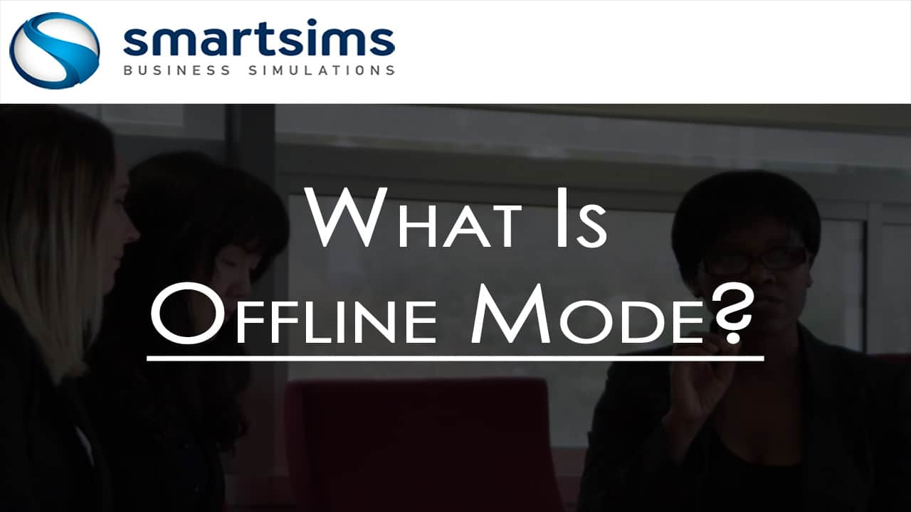 AdSim Using Offline Mode Intro Slide