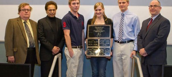 Photo of Quinnipiac Competition Winners