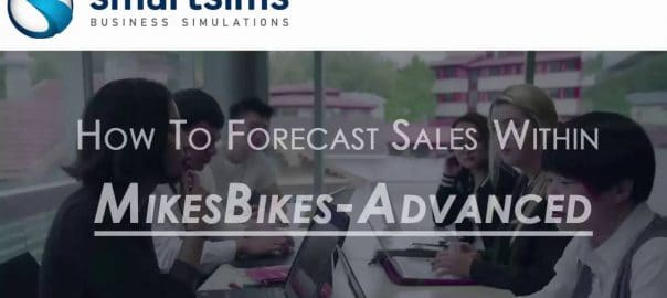 Tutorial Video: Forecasting Sales within MikesBikes-Advanced