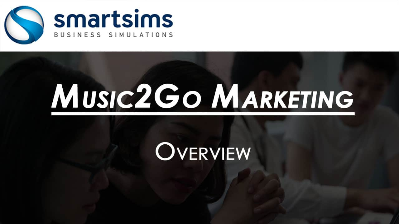 Video Preview with text overlaying 'Music2Go Marketing Overview'