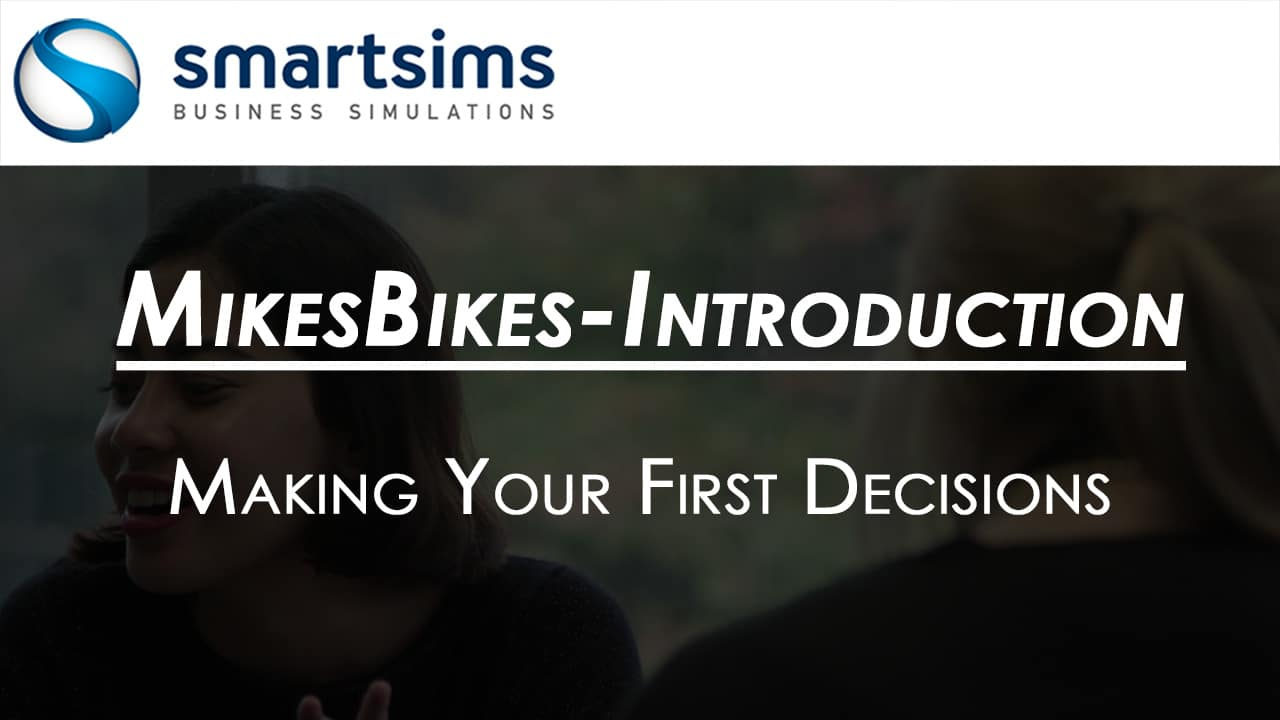Making your first decisions
