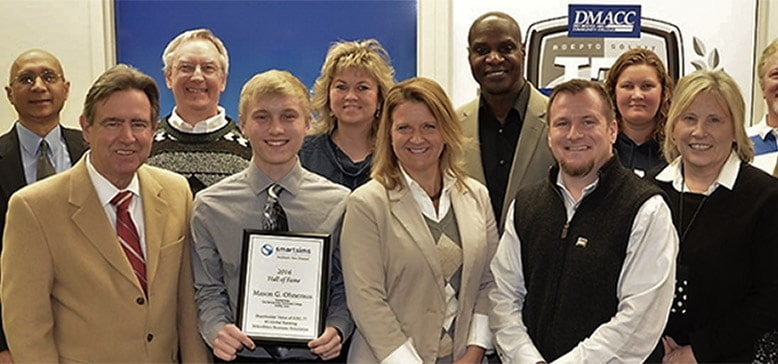 Award Given To MikesBikes Student