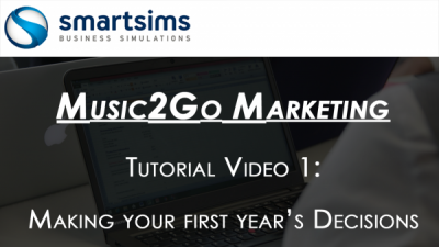 Music2Go Marketing Simulation Tutorial Video 1