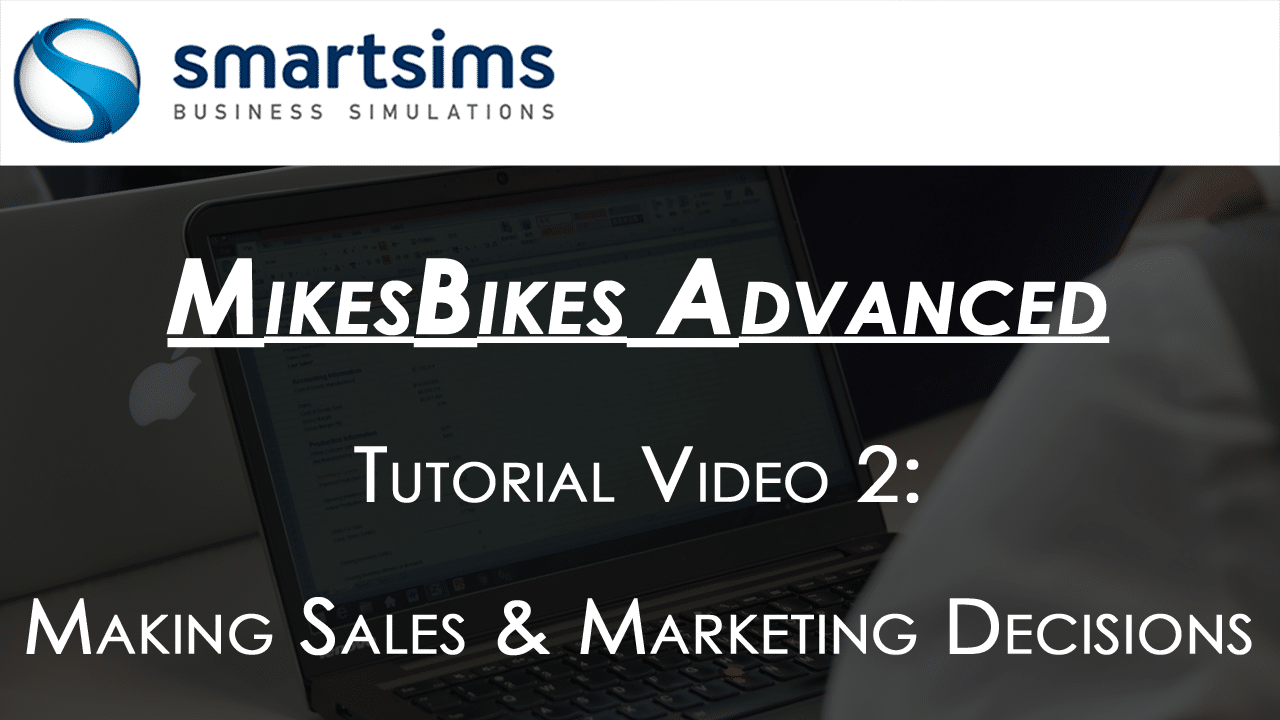 Sales and Marketing in MikesBikes Advanced