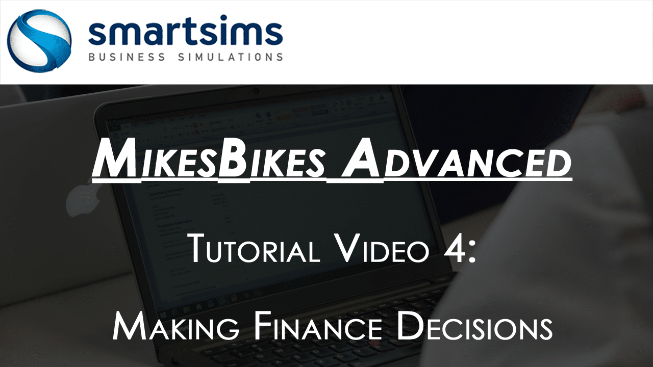 Finance in MikesBikes Advanced