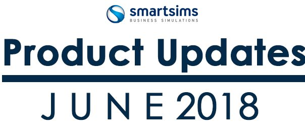 Smartsims Product Updates for June 2018