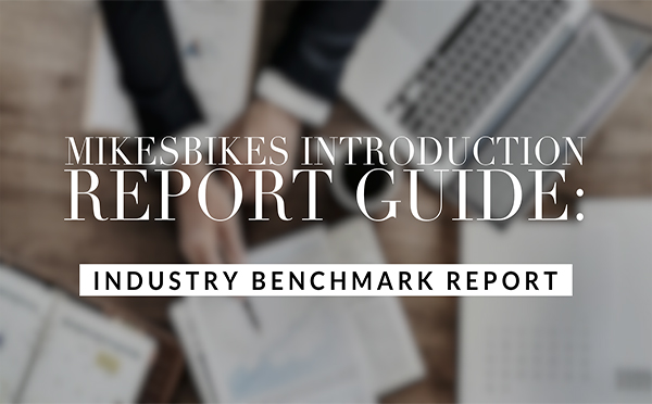 MikesBikes Introduction Report Guide: Industry Benchmark Report