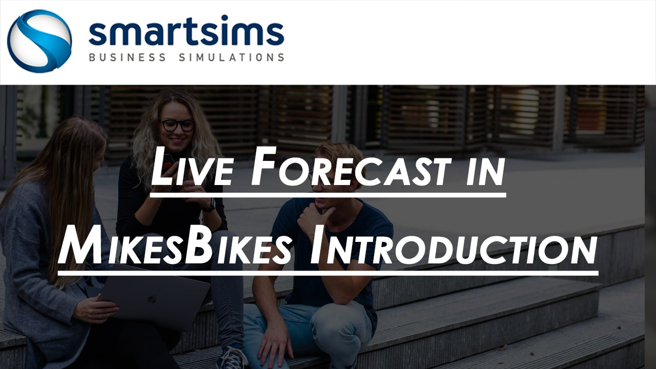 Live Forecast in MikesBikes Introduction