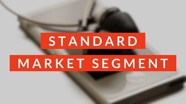 Market Segments in Music2Go Marketing Simulation: Standard Segment