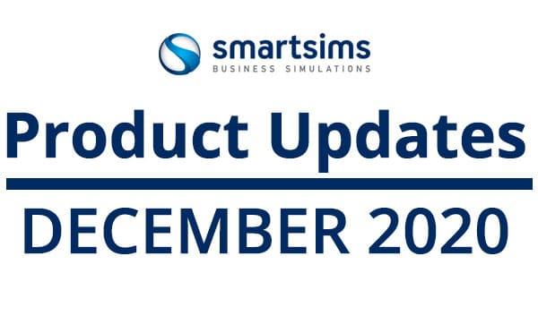 SMARTSIMS PRODUCT UPDATES: DECEMBER 2020